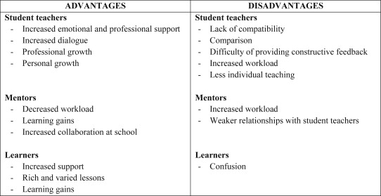 advantages and disadvantages of reflective teaching