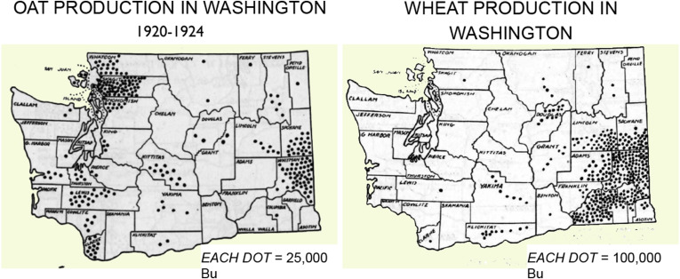 The history of oats in western Washington and the evolution ...