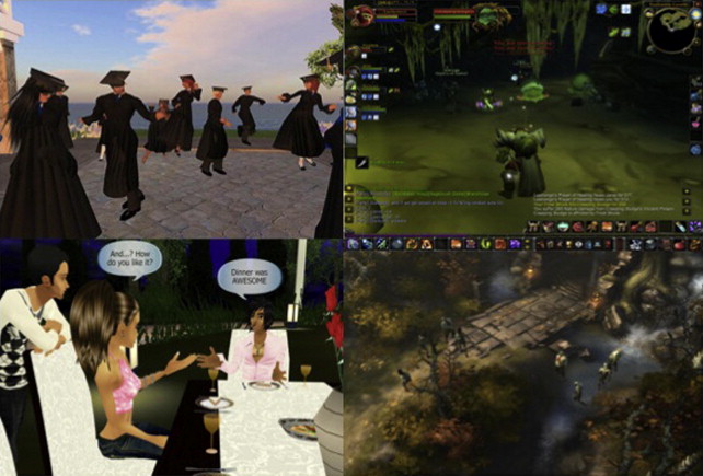 Avatar creation in virtual worlds: Behaviors and motivations