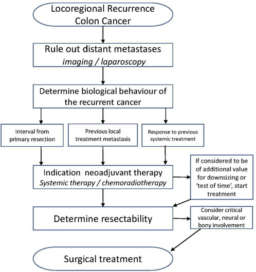 Curative Intent Surgery For Isolated Locoregional Recurrence Of Colon Cancer Review Of The Literature And Institutional Experience Sciencedirect