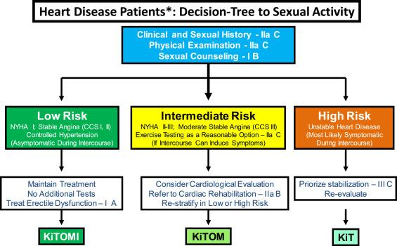 Sexual behavior in cardiology patients