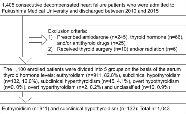 Subclinical Hypothyroidism Is Associated With Adverse Prognosis in ...