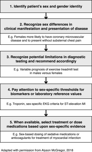 Sex-Specific Considerations in Guidelines Generation and