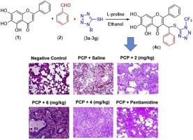 Baicalin tetrazole acts as anti-pneumocystis carinii