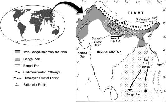 Weathering of the Ganga alluvial plain, northern India ...