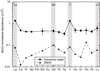 Direct quantification of rare earth element concentrations in