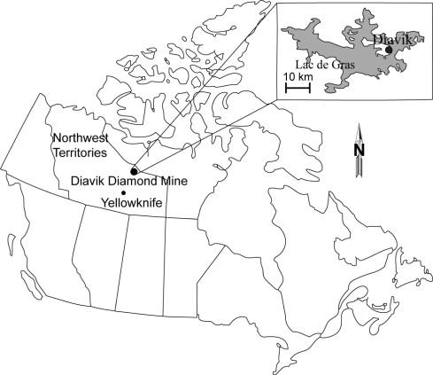 The Diavik Waste Rock Project Measurement Of The Thermal Regime Of