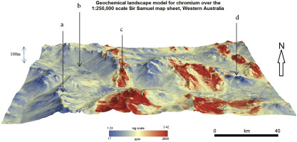 Predictive geochemical mapping using environmental ... on
