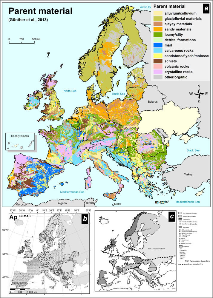 GEMAS: Source, distribution patterns and geochemical behaviour of Ge ...