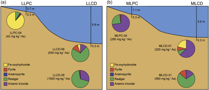 Solid-phase speciation and post-depositional mobility of