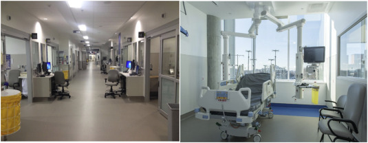 Transition to a newly constructed single patient room adult