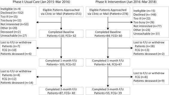 Translation and Evaluation of a Lung Cancer, Palliative Care