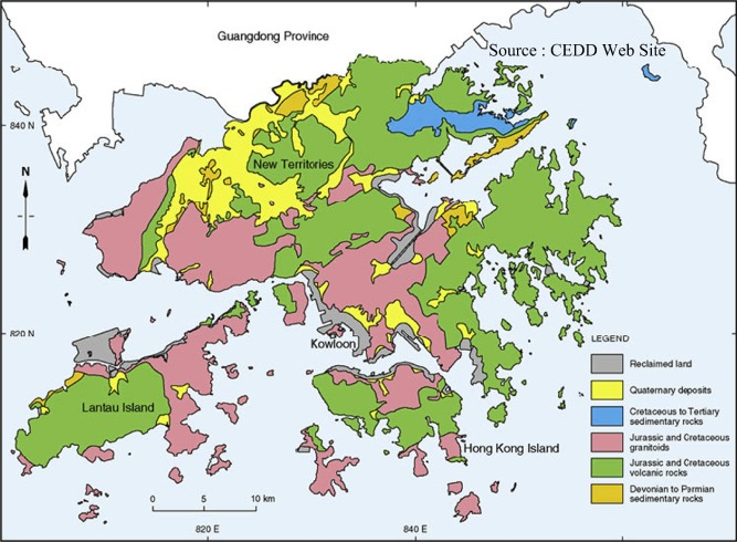 Development and application of underground space use in Hong Kong