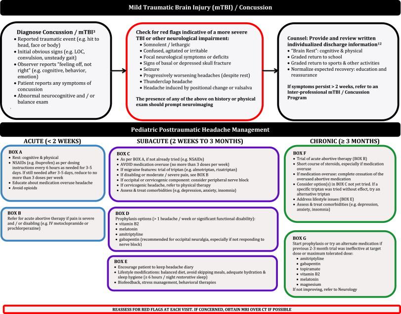 Part II—Management of Pediatric Post-traumatic Headaches - ScienceDirect