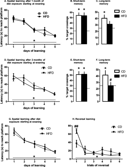 Impairment Of Hippocampal Dependent Memory Induced By Juvenile High