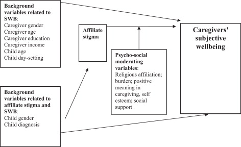 Subjective well-being among family caregivers of individuals