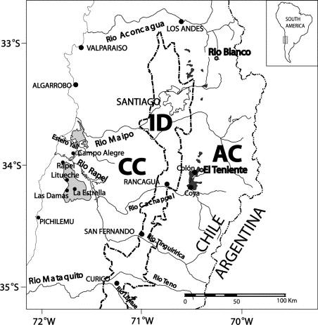 Pliocene Lahar Deposits In The Coastal Cordillera Of Central Chile