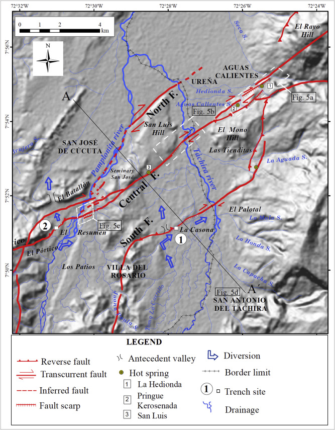 Identification of the seismogenic source of the 1875 Cucuta