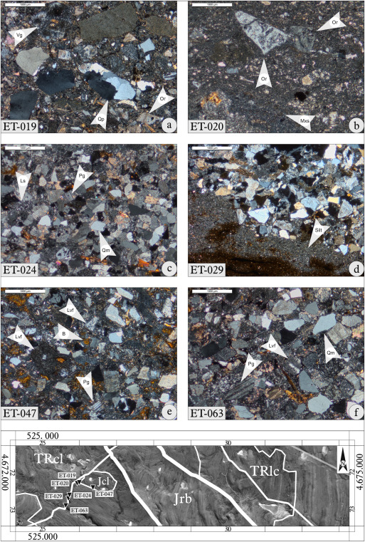 Petrography and geochemistry of the Triassic El Tranquilo Group