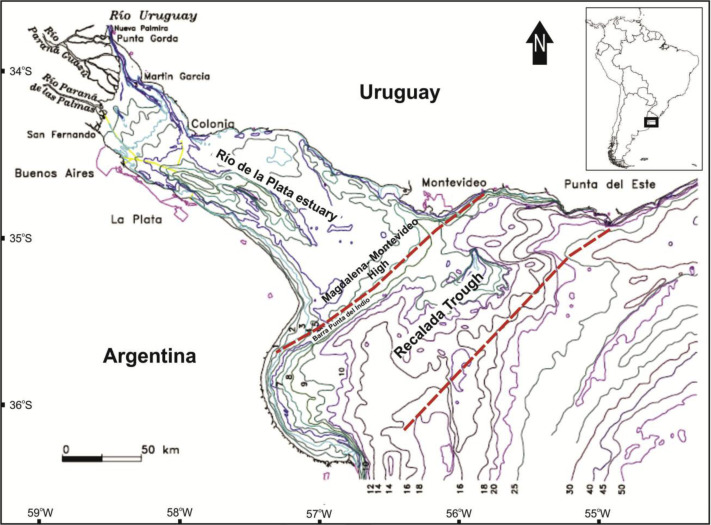 Geology Of The Río De La Plata And The Surrounding Areas Of