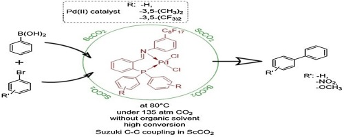 Palladium Ii Complexes With New Bidentate Phosphine Imine Ligands For The Suzuki Cc Coupling Reactions In Supercritical Carbon Dioxide Sciencedirect