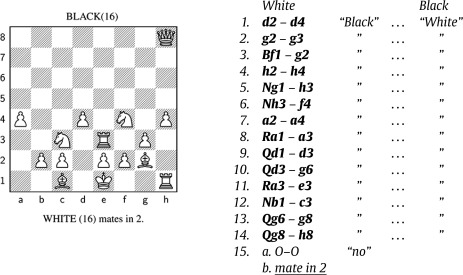 Lloyd Shapley and chess with imperfect information