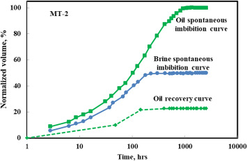 Imbibition Oil Recovery From Tight Rocks With Dual Wettability