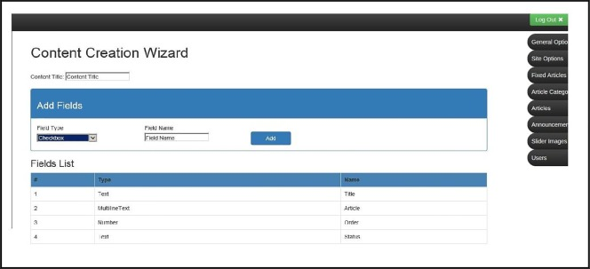 mtCMF: A novel memory table based content management framework for