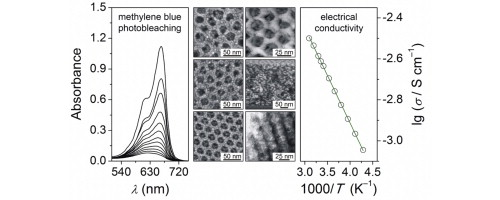 Polymer-templated ordered large-pore mesoporous anatase