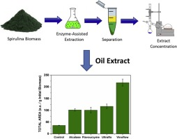 Advantageous Enzyme Selective Extraction Process Of Essential