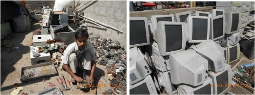 E-waste flows, resource recovery and improvement of legal framework