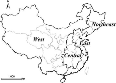Spatially Explicit Material Stock Analysis Of Buildings In Eastern China Metropoles Sciencedirect