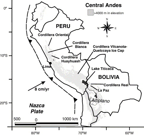 Tracing Tropical Andean Glaciers Over Space And Time Some Lessons