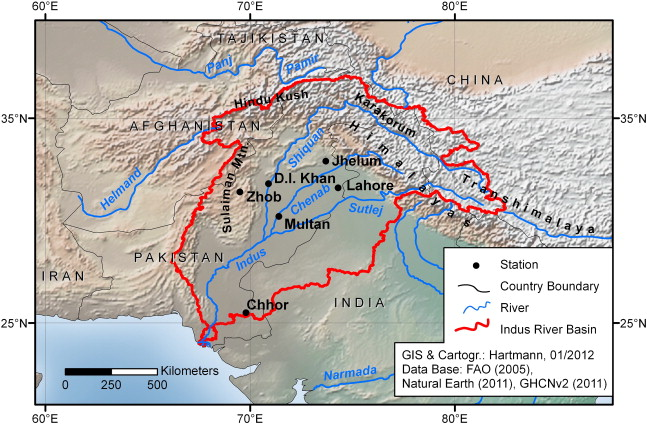 Flooding in the Indus River basin — A spatiotemporal ...