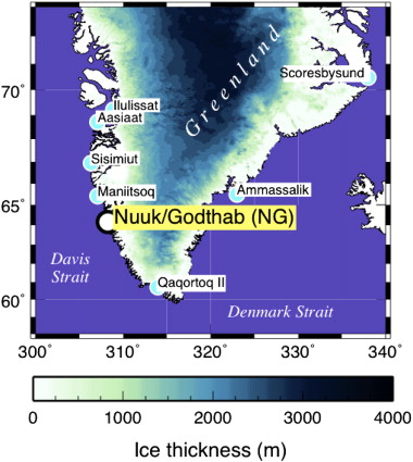 A Study Of The Longest Tide Gauge Sealevel Record In Greenland - Greenland latitude