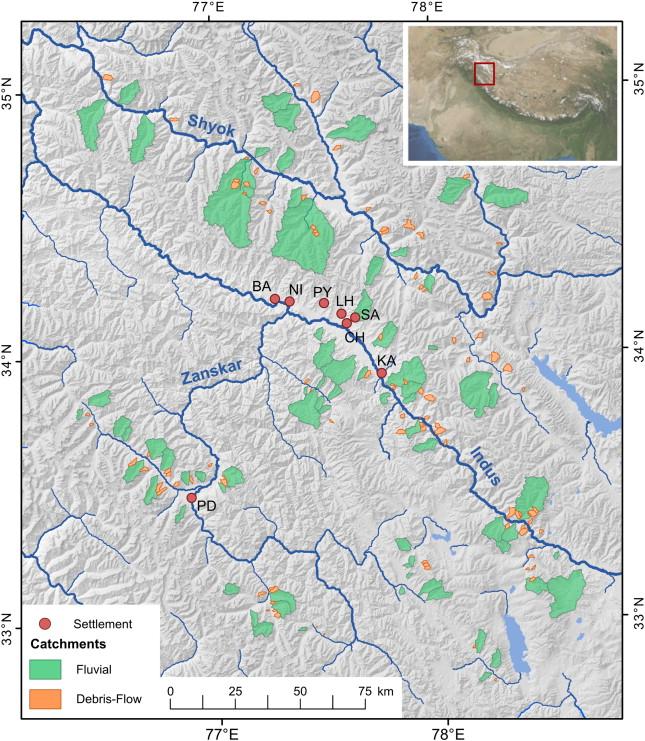 On predicting debris flows in arid mountain belts - ScienceDirect