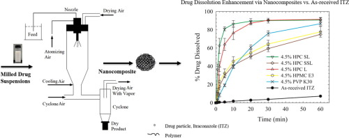Impact of polymers on the aggregation of wet-milled itraconazole