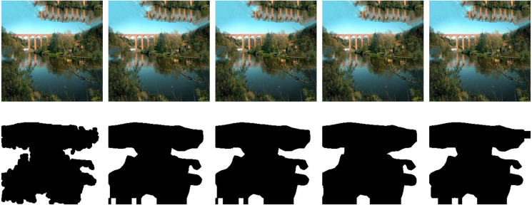 A deep learning approach to patch-based image inpainting