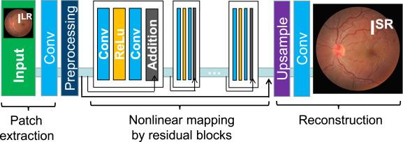 Towards efficient medical lesion image super-resolution based on