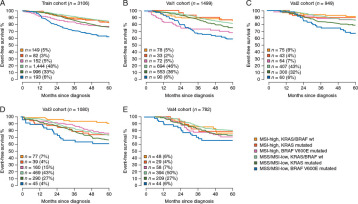 Prediction Of Overall Survival In Stage Ii And Iii Colon Cancer Beyond Tnm System A Retrospective Pooled Biomarker Study Sciencedirect