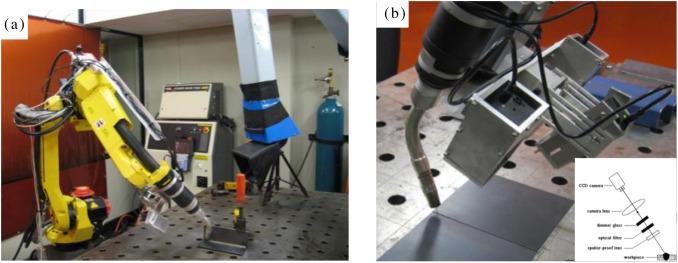 Welding seam tracking in robotic gas metal arc welding