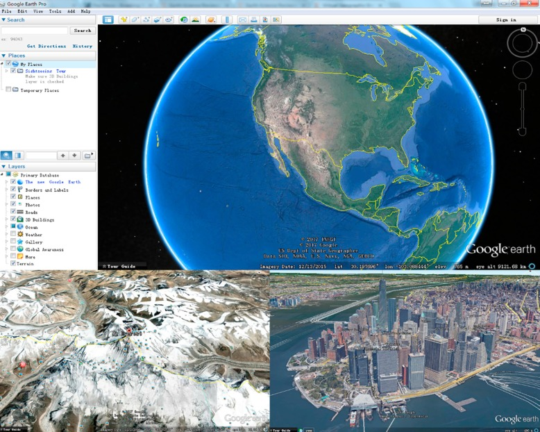 Applications and impacts of Google Earth: A decadal review