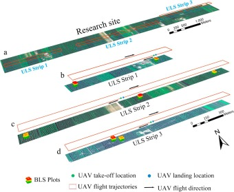 Marker-free coregistration of UAV and backpack LiDAR point