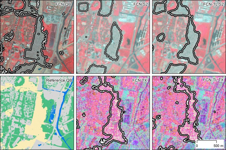 Semantic segmentation of slums in satellite images using transfer