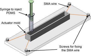 comparison of mold designs for sma based twisting soft actuator full size image