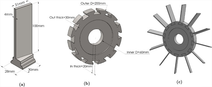 "4 /""  Vector  Turbo Diamond Blade 4-pcs for 25.00 #549-H-2"