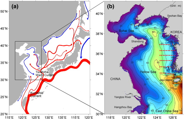 Spatial And Temporal Variability Of Sea Surface Temperature And Warming Trends In The Yellow Sea Sciencedirect