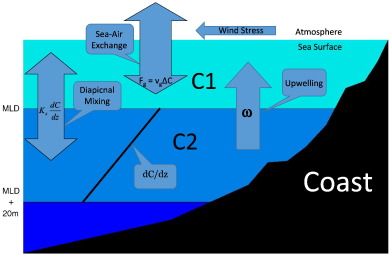 Upwelling velocity and ventilation in the mauritanian upwelling schematic of processes determining flux of properties between the interior ocean and the atmosphere to the mixed layer in a coastal upwelling region ccuart Gallery