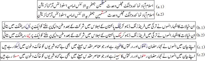 Offline cursive Urdu-Nastaliq script recognition using