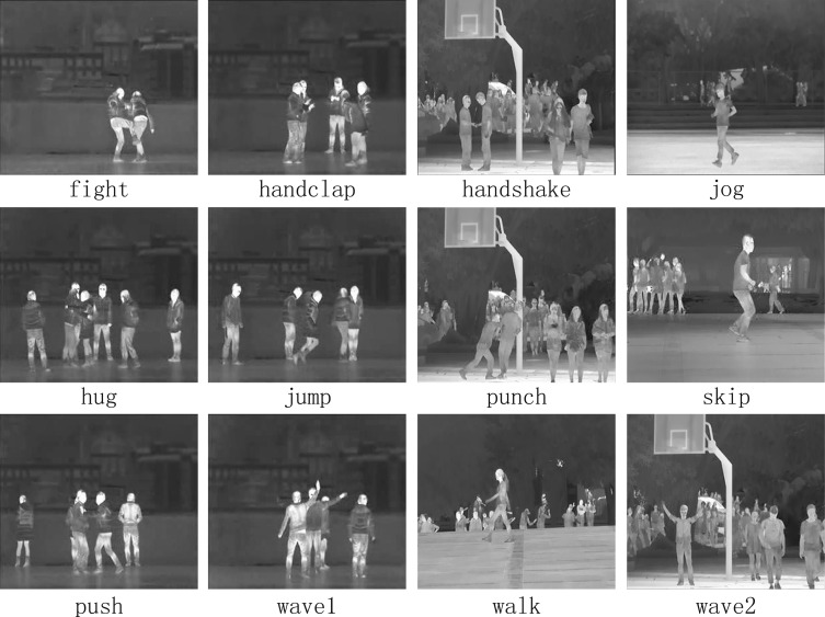 InfAR dataset: Infrared action recognition at different
